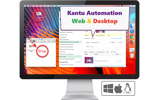 Desktop Automation, also known as Robotic Process Automation (RPA)